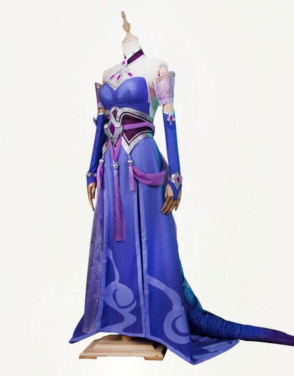 Morgana Cosplay Majestic Empress Costume (5)