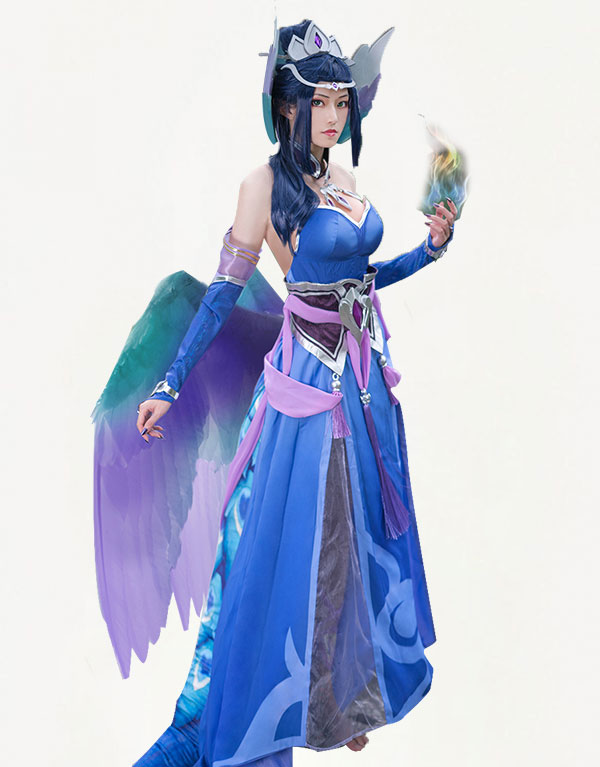 Morgana Cosplay Majestic Empress Costume (6)