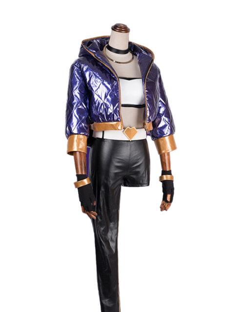 Akali Cosplay KDA Akali Costume Product Etails (7)