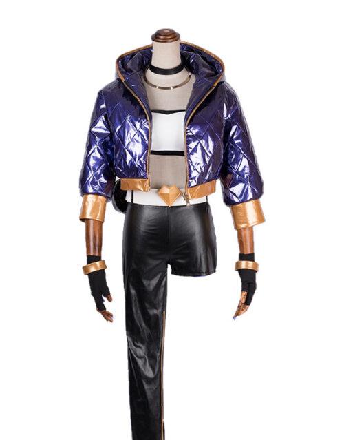 Akali Cosplay KDA Akali Costume Product Etails (8)