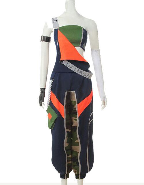 Akali Cosplay True Damage Akali Costume Product Etails (2)