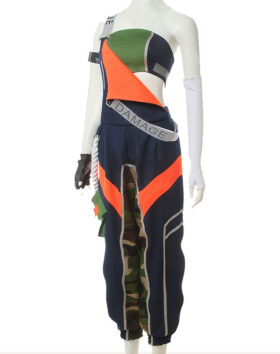 Akali Cosplay True Damage Akali Costume Product Etails (3)