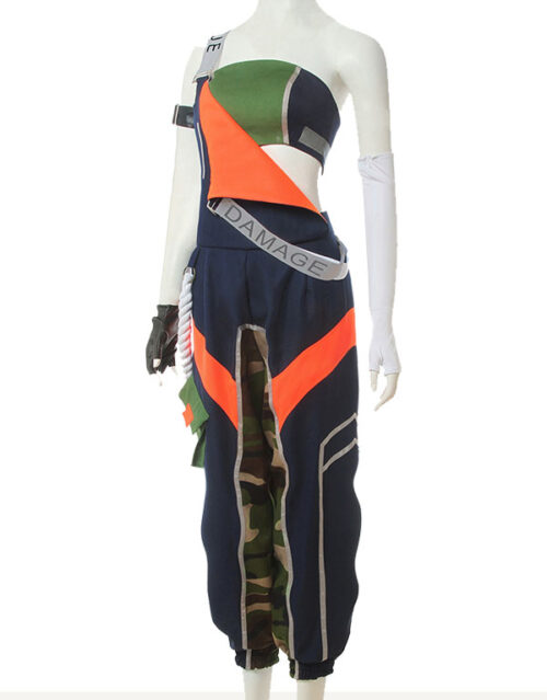 Akali Cosplay True Damage Akali Costume Product Etails (3)
