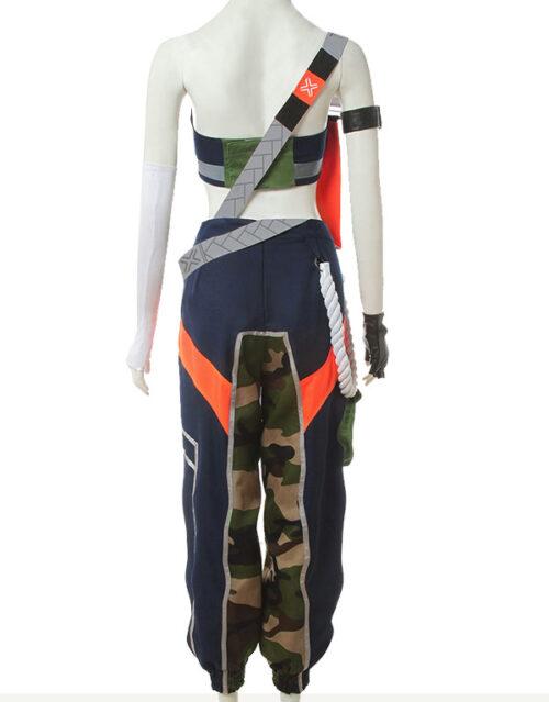 Akali Cosplay True Damage Akali Costume Product Etails (4)