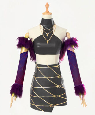 Evelynn Cosplay KDA Evelynn Costume (2)