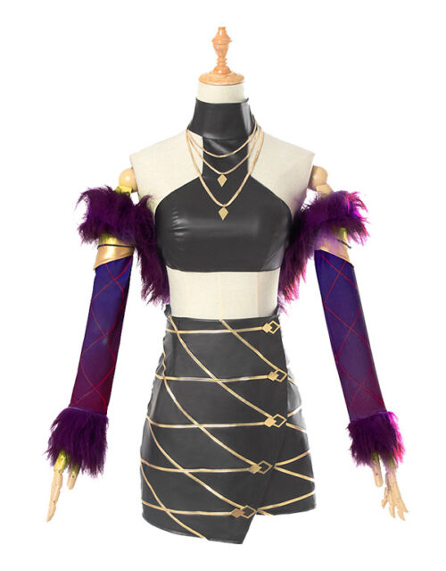 Evelynn Cosplay KDA Evelynn Costume Product Etails (13)