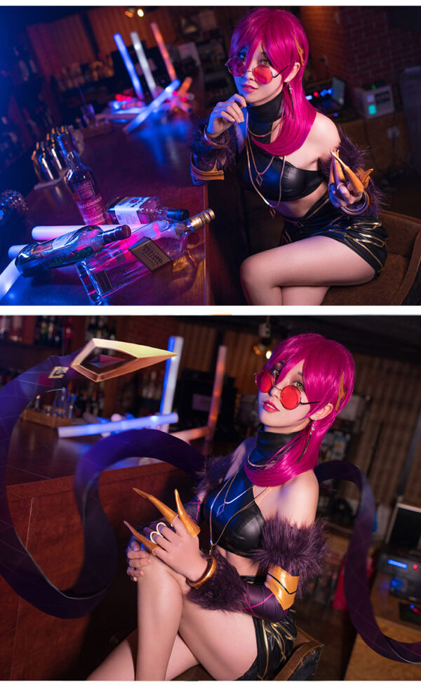 Evelynn Cosplay KDA Evelynn Costume Product Etails (5)