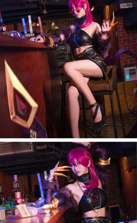 Evelynn Cosplay KDA Evelynn Costume Product Etails (6)