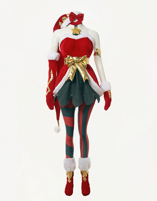 Jinx Cosplay Ambitious Elf Jinx Costume (3)