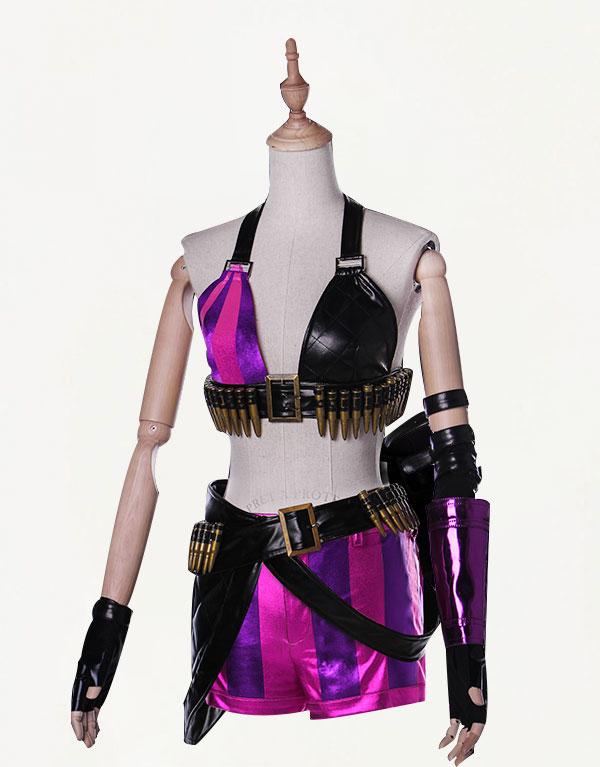 Jinx Cosplay Costume (1)