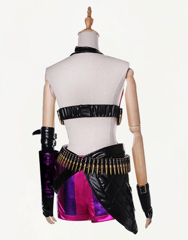 Jinx Cosplay Costume (2)