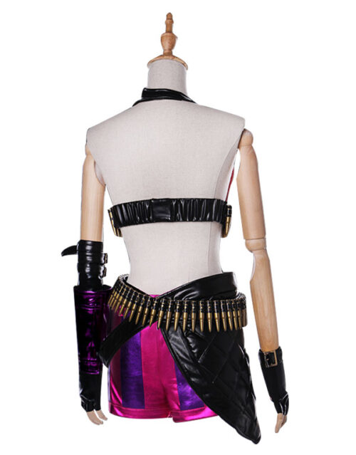 Jinx Cosplay Costume Product Etails (10)