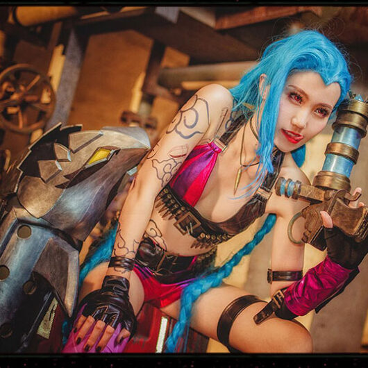 Jinx Cosplay Costume Product Etails (5)