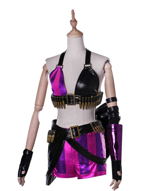 Jinx Cosplay Costume Product Etails (9)