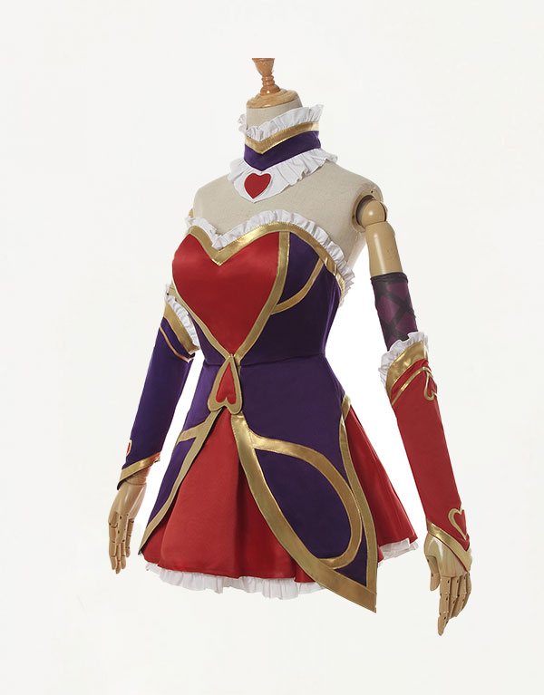 Jinx Cosplay Heartseeker Jinx Costume (3)