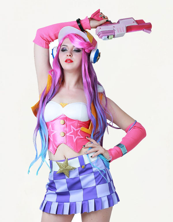Miss Fortune Cosplay Arcade Miss Fortune Costume Product Etails (12)