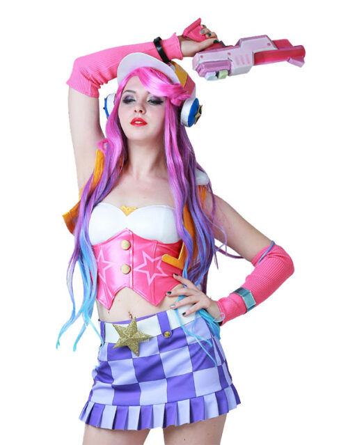 Miss Fortune Cosplay Arcade Miss Fortune Costume Product Etails (5)