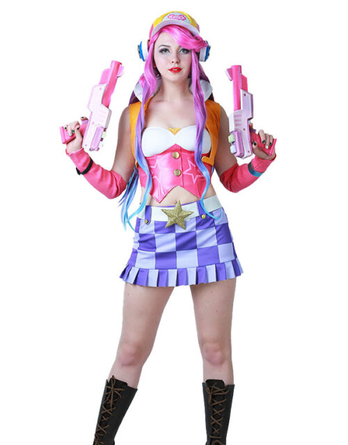 Miss Fortune Cosplay Arcade Miss Fortune Costume Product Etails (6)