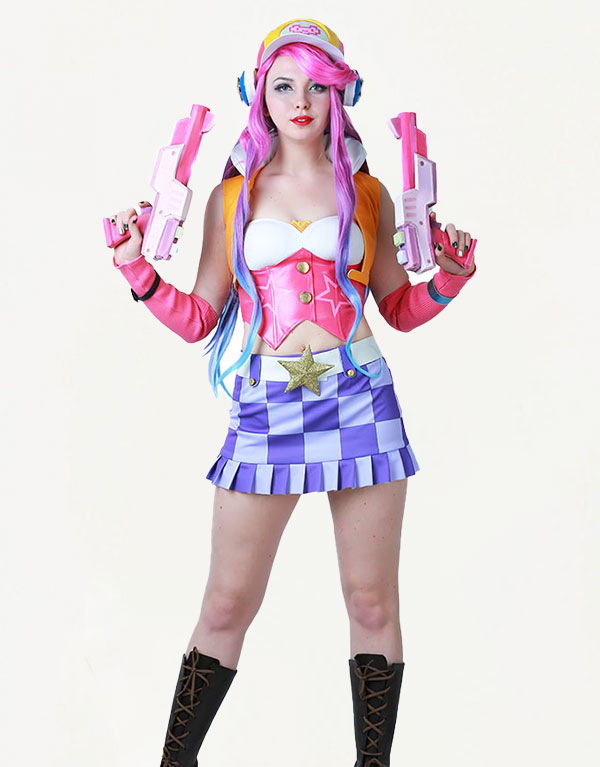 Miss Fortune Cosplay Arcade Miss Fortune Costume Product Etails (7)