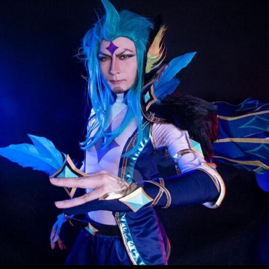 Rakan Cosplay Star Guardian Rakan Costume Product Etails (1)