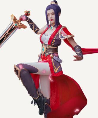 Riven Cosplay Valiant Sword Riven Costume (3)