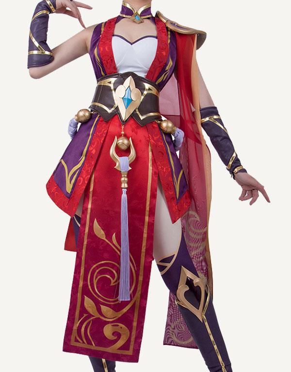 Riven Cosplay Valiant Sword Riven Costume (4)
