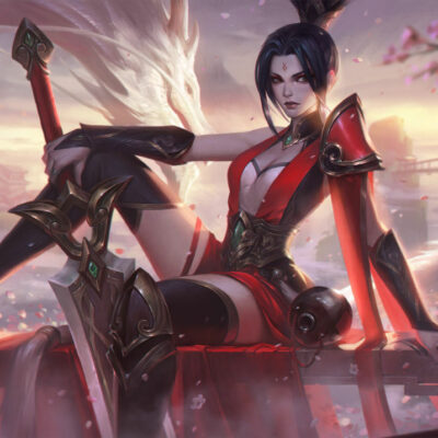 Riven Cosplay Valiant Sword Riven Costume Product Etails (1)