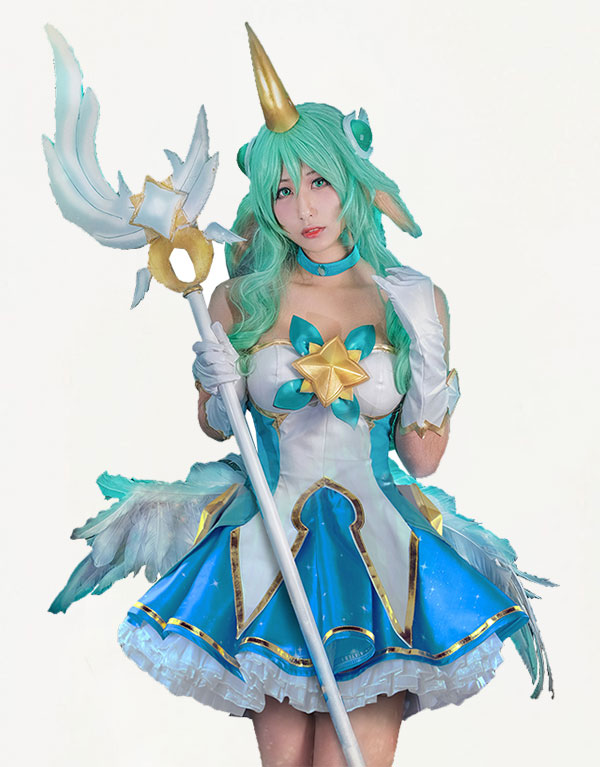 Soraka Cosplay Star Guardian Soraka Costume (2)