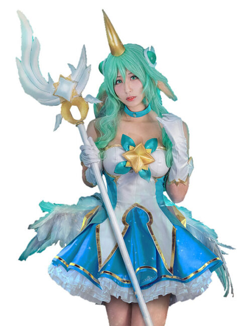 Soraka Cosplay Star Guardian Soraka Costume Product Etails (14)