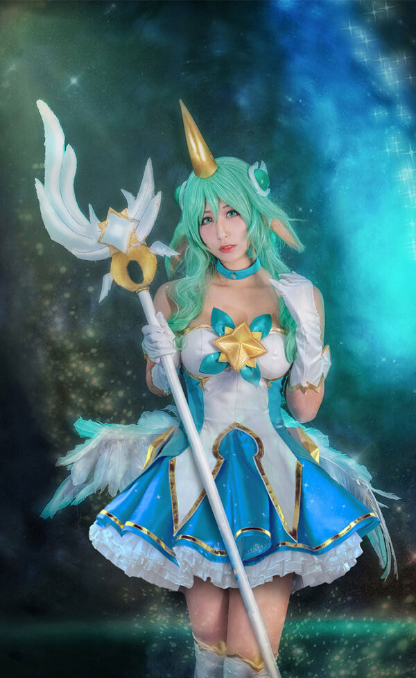 Soraka Cosplay Star Guardian Soraka Costume Product Etails (3)