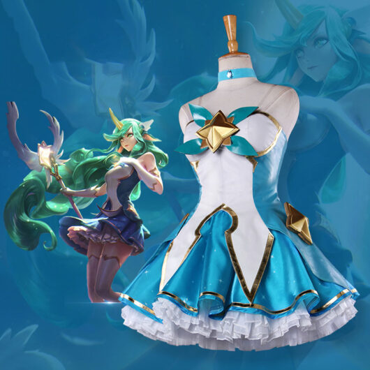 Soraka Cosplay Star Guardian Soraka Costume Product Etails (4)