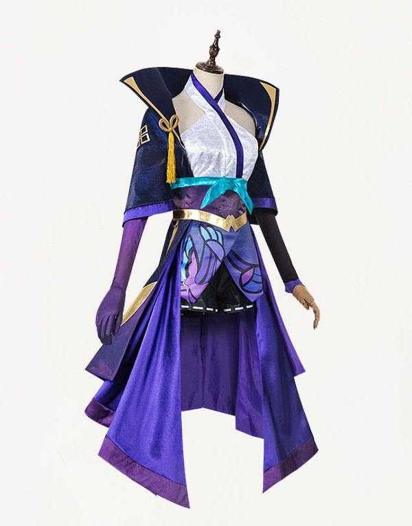 Vayne Cosplay Spirit Blossom Vayne Costume (1)