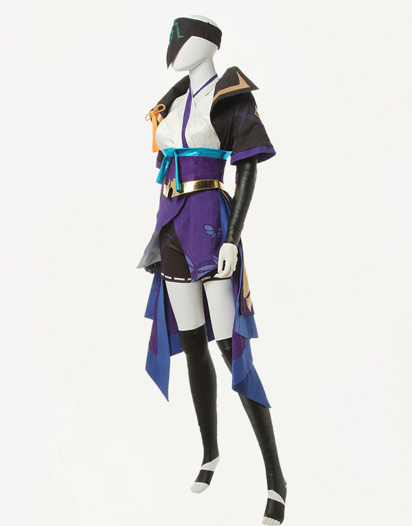 Vayne Cosplay Spirit Blossom Vayne Costume (2)