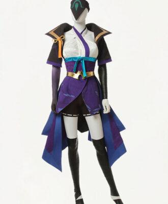 Vayne Cosplay Spirit Blossom Vayne Costume (3)