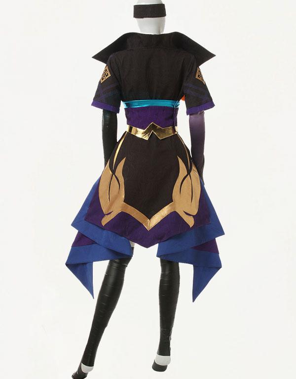 Vayne Cosplay Spirit Blossom Vayne Costume (4)