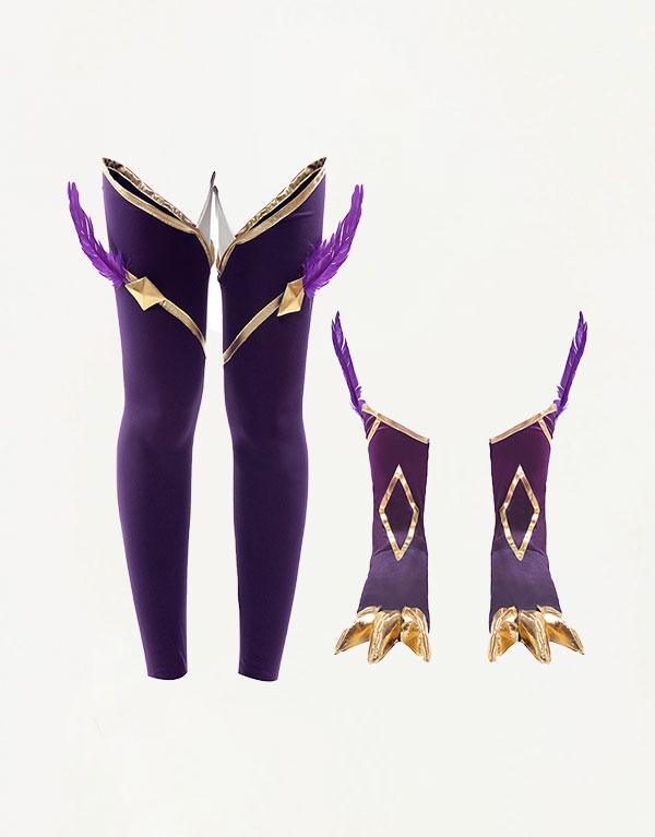 Xayah Cosplay Star Guardian Xayah Costume (5)