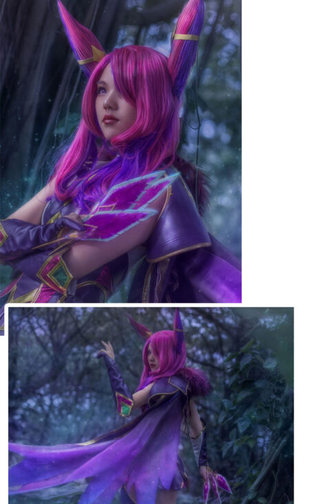 Xayah Cosplay Star Guardian Xayah Costume Product Etails (15)