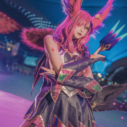 Xayah Cosplay Star Guardian Xayah Costume Product Etails (16)