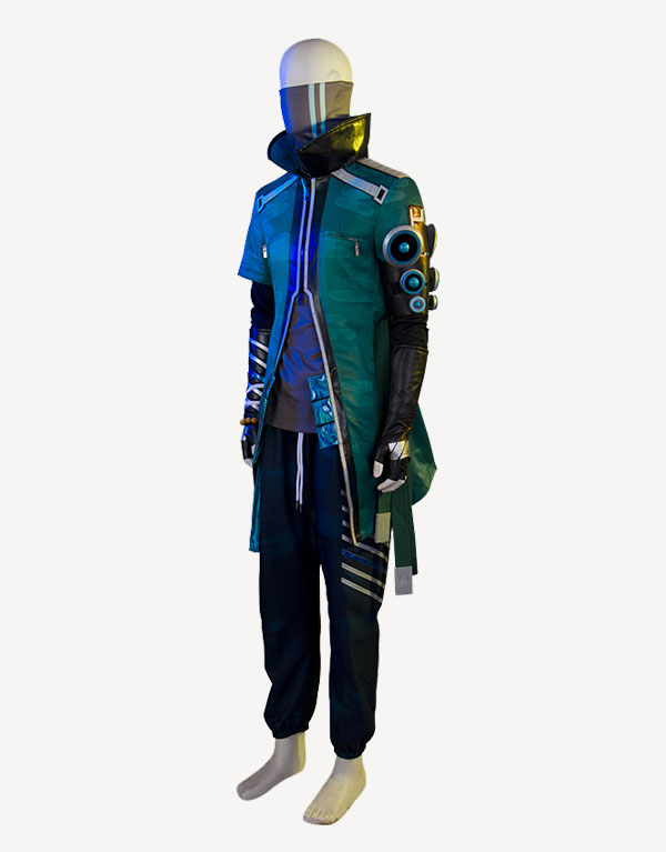 Yasuo Cosplay True Damage Yasuo Prestige Edition Costume (3)