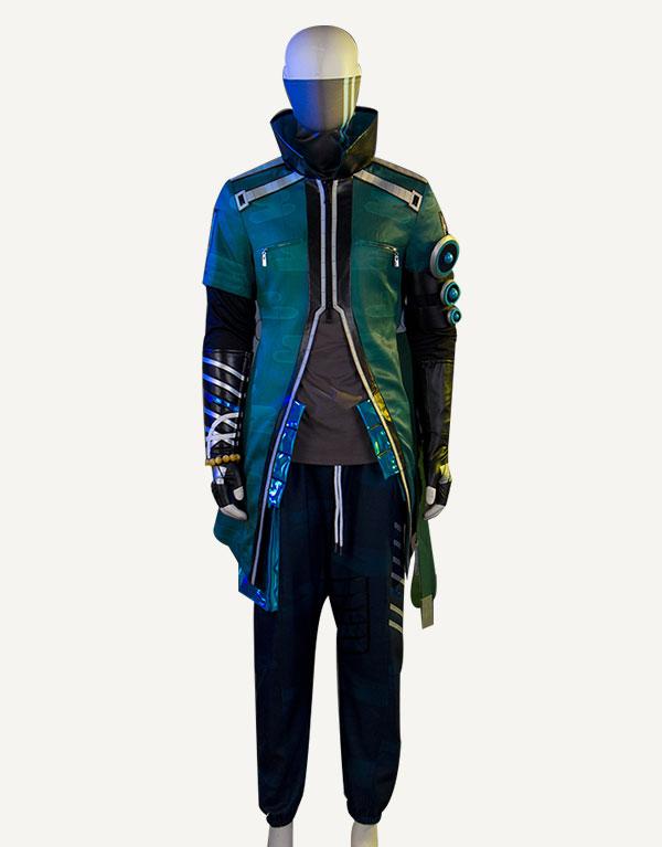Yasuo Cosplay True Damage Yasuo Prestige Edition Costume (4)