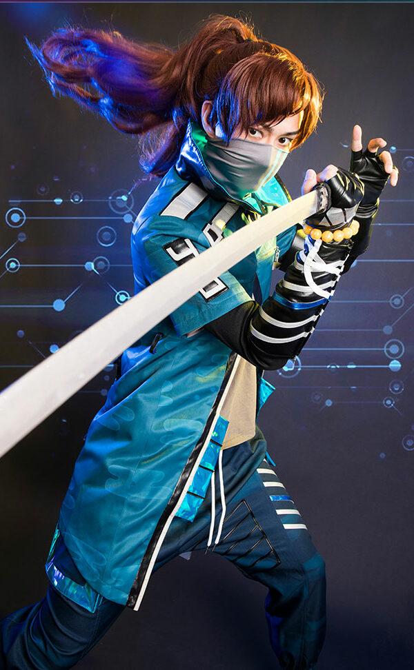 Yasuo Cosplay True Damage Yasuo Prestige Edition Costume Product Etails (7)