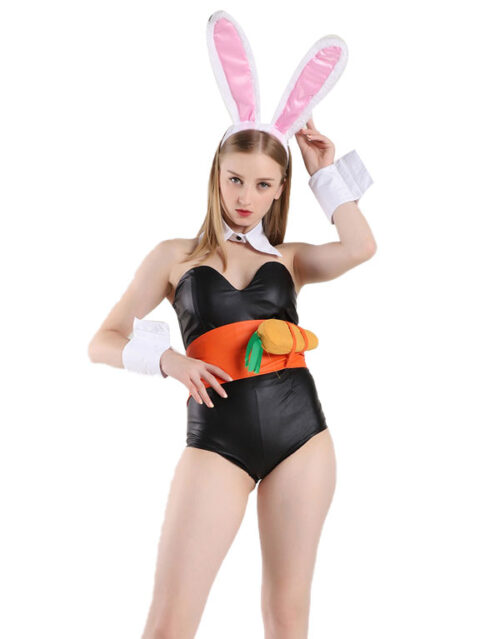 Battle Bunny Riven Cosplay Costume Product Etails (3)