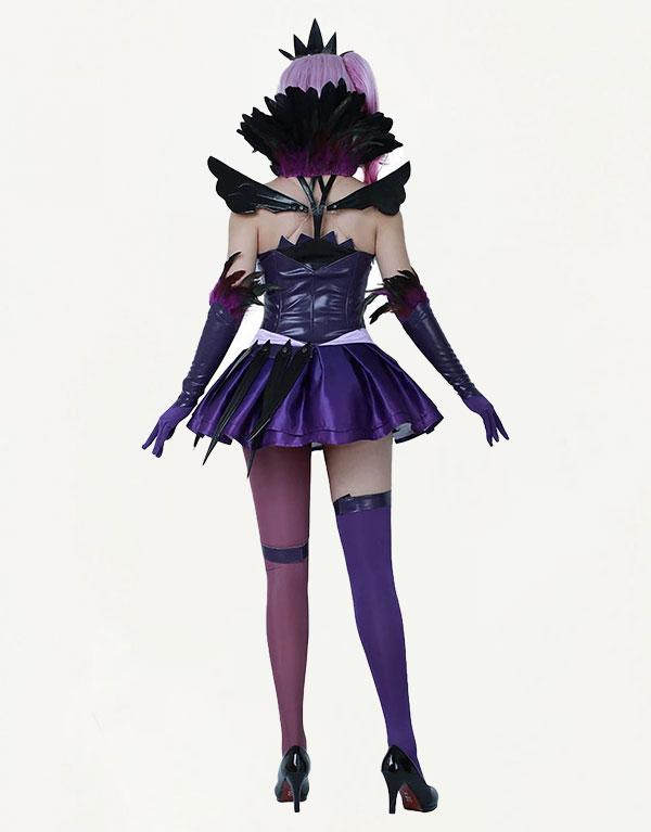 Dark Cosmic Lux Cosplay Costume (1)