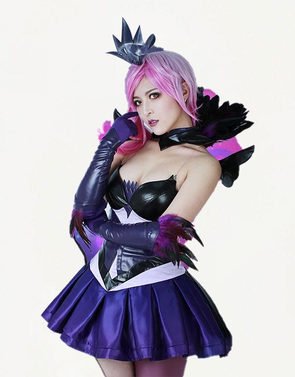 Dark Cosmic Lux Cosplay Costume (2)