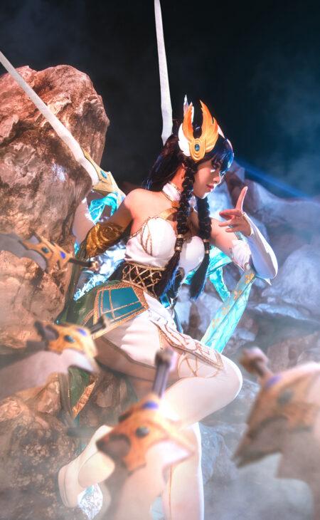 Divine Sword Irelia Cosplay Costume Product Etails (2)