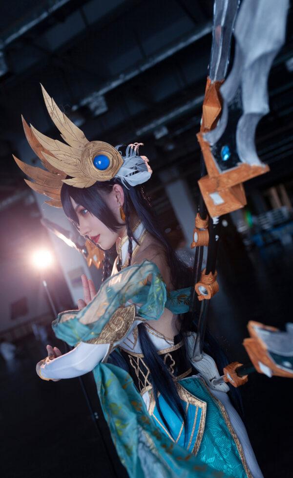 Divine Sword Irelia Cosplay Costume Product Etails (3)