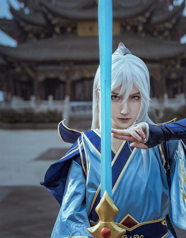 Enduring Sword Talon Cosplay Cotume (2)