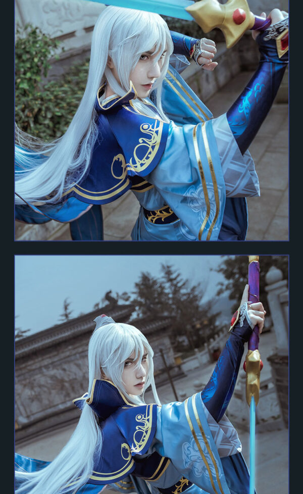 Enduring Sword Talon Cosplay Cotume Product Etails (2)