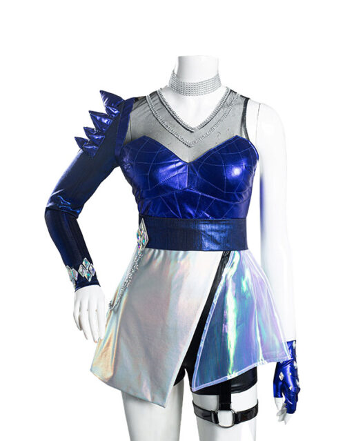 KDA ALL OUT Ahri Cosplay Costume Product Etails (8)