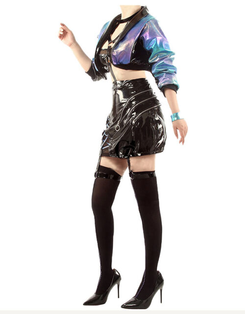 KDA ALL OUT Evelynn Cosplay Costume Product Etails (6)